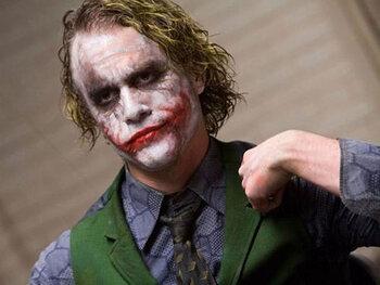 Heath Ledger : The Dark Knight, Le Chevalier noir