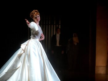 Rebecca Ferguson dans 'The Greatest Showman'