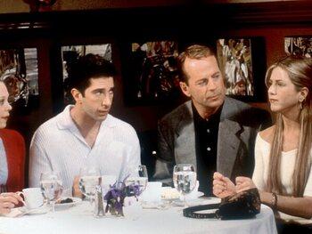 Het gastoptreden van Bruce Willis