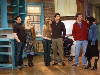 Phoebe en Chandler: bijrollen