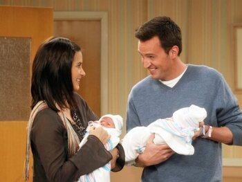 De relatie tussen Chandler en Monica