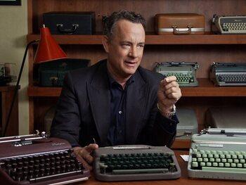 Tom Hanks : la machine à écrire