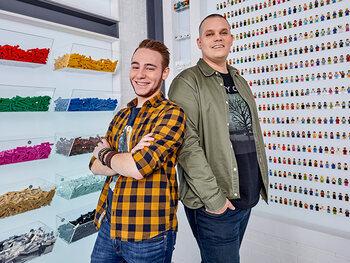 Hobbyvrienden Corneel en Björn