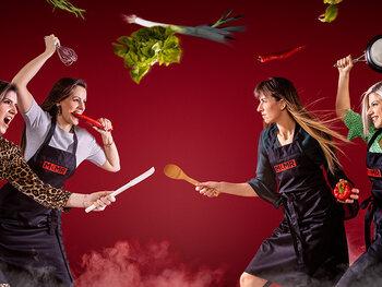 Battle 4: Mira en Anne-Sophie versus Charlotte en Charlot