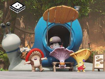 Nieuwe afleveringen van 'Mush-Mush en de Zwammetjes' op Boomerang
