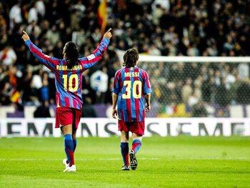 Ronaldinho et Messi retournent Albacete