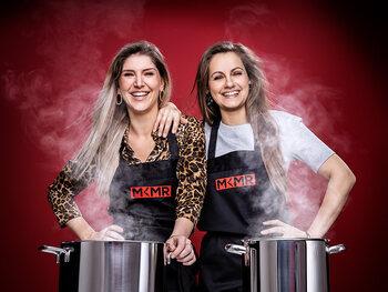 Vriendinnen Anne-Sophie De Bock (34) en Mira Ghyllebert (31) uit Overmere en Oostende
