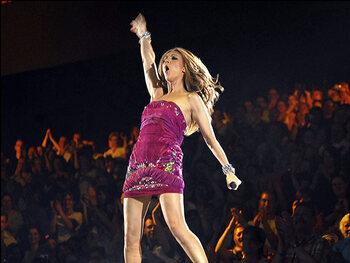 Céline Dion l'imitatrice
