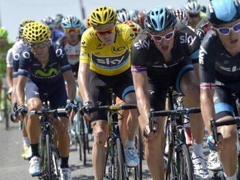 Des dégâts sur le Tour de France 2013