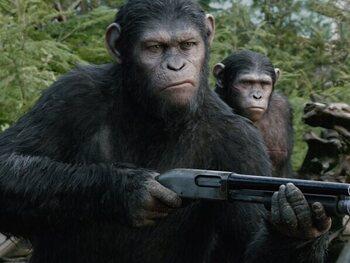 Lundi: 'La planète des singes : les origines' à 20h sur Club RTL