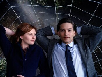 Tobey Maguire en Kirsten Dunst