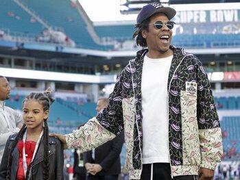 Jay-Z: een fiere papa