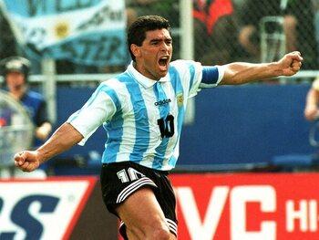 Dernier but pour l'Argentine