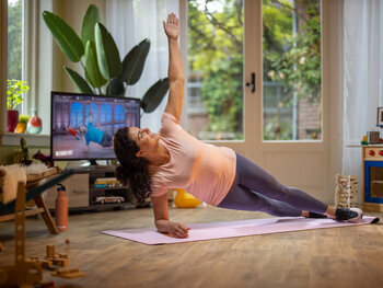 Proximus Pickx et Basic Fit s'unissent pour vous concocter un entraînement à domicile