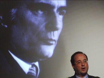 François Hollande sous l'ère Mitterrand