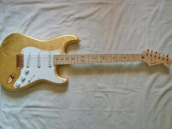 Gold Leaf Stratocaster (Clapton)