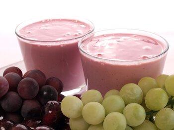Smoothie aux raisins