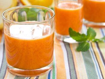 Smoothie aux carottes
