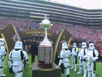 De Copa Libertadores onder begeleiding van Stormtroopers