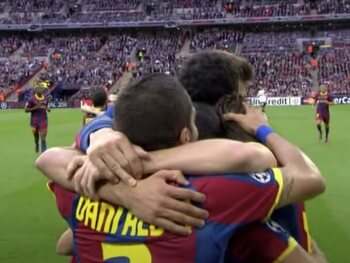 FC Barcelone - Manchester United (3-1)
