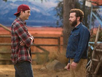 """The Ranch"" avec Ashton Kutcher"