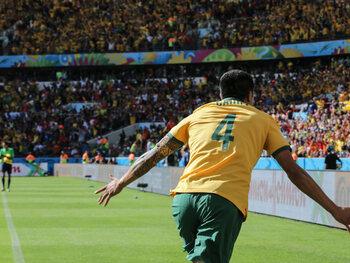 One day, one goal: la volée sensationnelle de Tim Cahill contre les Pays-Bas