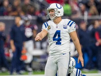 Le mauvais élève de la semaine – Adam Vinatieri (Indianapolis Colts)