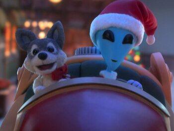 Vrijdag: Alien Xmas (Netflix)
