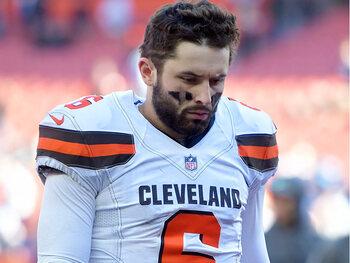 De slechte leerling van de week – Baker Mayfield (Cleveland Browns)