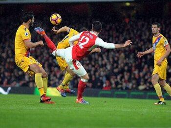 Olivier Giroud versus Crystal Palace