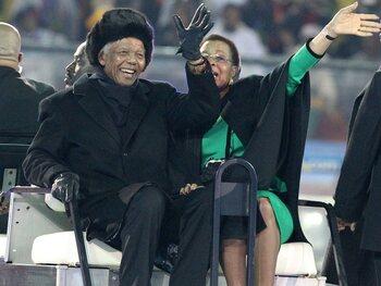 La dernière apparition publique de Mandela