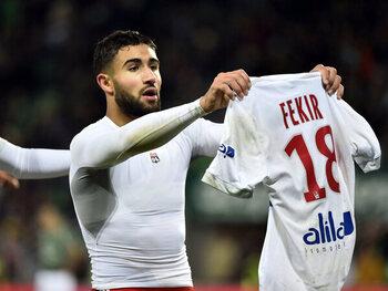 Fekir volgt het voorbeeld van Messi