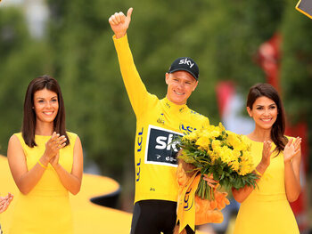 De vier Tour-overwinningen van Froome