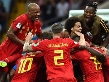 België - Japan (3-2)