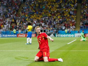 België - Brazilië (2-1)