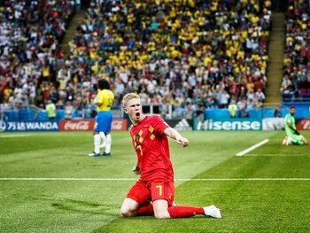 La victoire contre le Brésil, la plus belle performance de l'histoire des Diables Rouges?