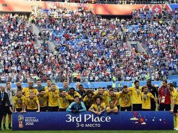 Brons voor de Rode Duivels op het WK