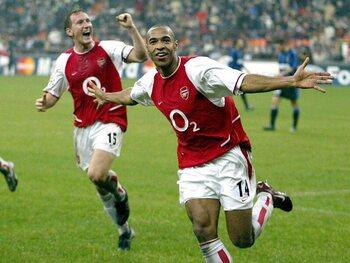 Legendarische wedstrijden: de onemanshow van Henry (Arsenal) tegen Inter Milaan!