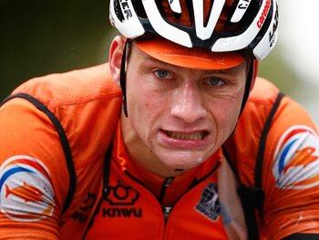 La défaillance de Mathieu van der Poel