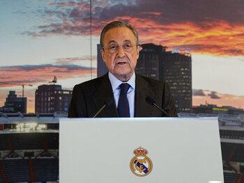 """Florentino Pérez verdedigt de Super League: """"We doen dit om het voetbal te redden"""""""