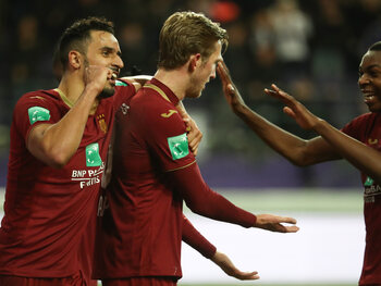 Anderlecht - Genk (22 december 2019)