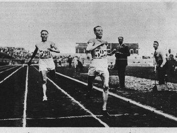 Flying Finn, Lenglen et le plus vieux médaillé de l'histoire