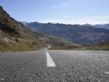 Les derniers kilomètres asphaltés