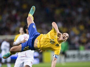 Zlatan Ibrahimovic versus Engeland