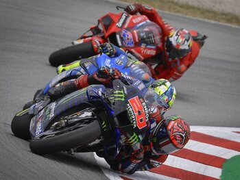 Dubbel Frans duel in Duitsland in Moto GP