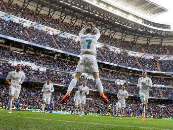 Mythische vieringen: de 'Siii' van Cristiano Ronaldo