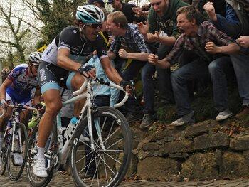 Le coup de mou de Cancellara sur le Ronde