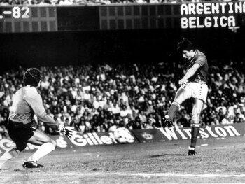 L'exploit des Diables contre Maradona