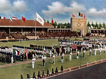 Serment et drapeau olympiques