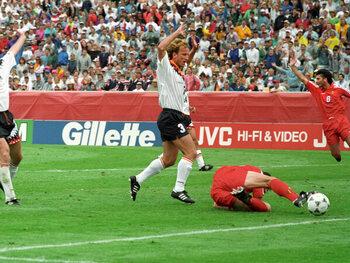 Völler et Klinsmann font mal aux Belges